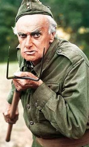 John Laurie - Laurie as Private Frazer in Dad's Army