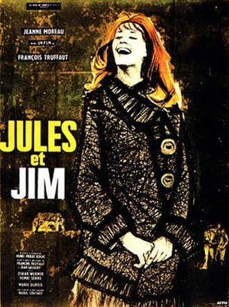 Jules and Jim - original film poster © Christian Broutin