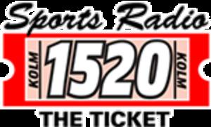 KOLM - Image: KOLM 1520The Ticket logo