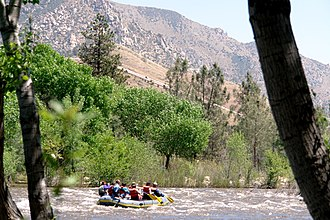 Kern River - The Kern River north of Kernville