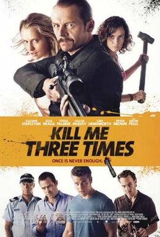 Kill Me Three Times - Theatrical release poster