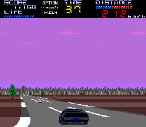 Knight Rider Special - Game play.