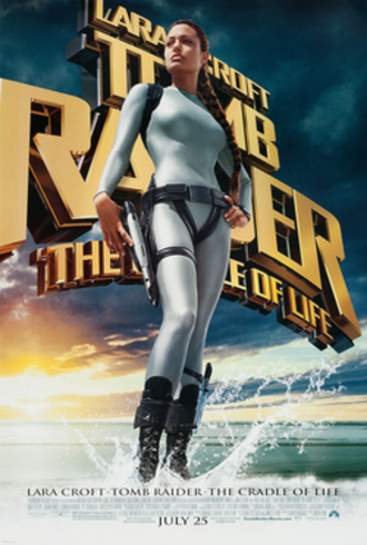 Lara Croft: Tomb Raider – The Cradle of Life - Theatrical release poster