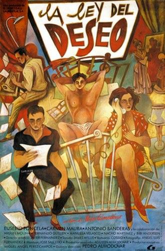 Law of Desire - Original Spanish poster