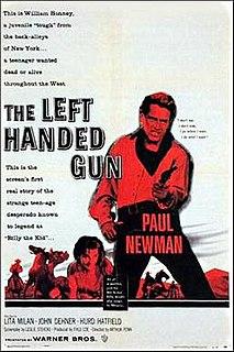 <i>The Left Handed Gun</i> 1958 film by Arthur Penn