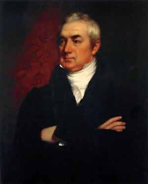 Loammi Baldwin Jr. - Portrait of Loammi Baldwin jr. by Chester Harding