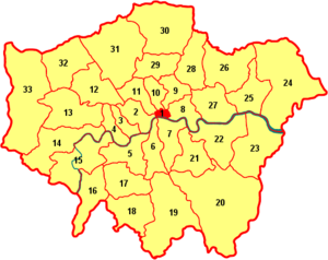 Map Of London With Neighborhoods.The Best Map Of London Neighborhoods London Relocation