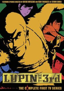 <i>Lupin the Third Part I</i> Japanese anime television series