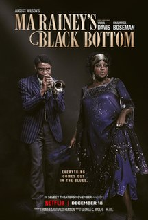 <i>Ma Raineys Black Bottom</i> (film) 2020 film by George C. Wolfe