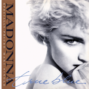 True Blue (Madonna song) - Image: Madonna True Blue (single)