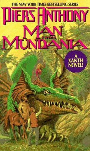 Man from Mundania - Image: Man from Mundania cover