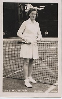 Margaret Osborne duPont American tennis player