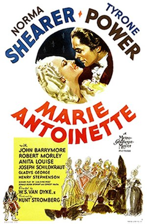 Marie Antoinette (1938 film) - Theatrical release poster