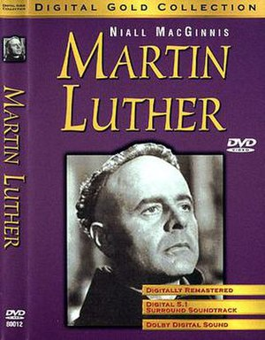 Martin Luther (1953 film) - Image: Martin Luther DVD cover