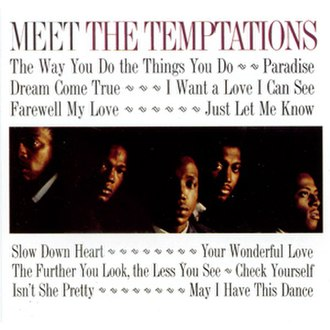 Meet the Temptations - Image: Meet the tempts 1964