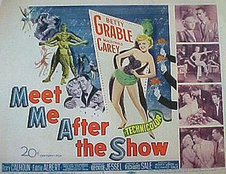 <i>Meet Me After the Show</i> 1951 film by Richard Sale