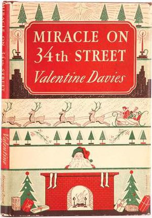Miracle on 34th Street (novella) - First edition (1947) of the novella adaption of the original 1947 film, Miracle on 34th Street