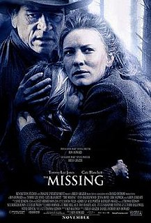 <i>The Missing</i> (2003 film) 2003 film by Ron Howard