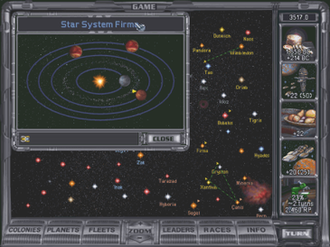 4X - 4X computer games such as Master of Orion II let empires explore the map, expanding by founding new colonies and exploiting their resources. The game can be won either by becoming an elected leader of the galaxy or by exterminating all opponents.