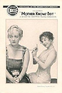 <i>Mother Knows Best</i> (film) 1928 film by John G. Blystone