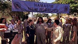 The Dharma Initiative takes a picture of its new recruits.