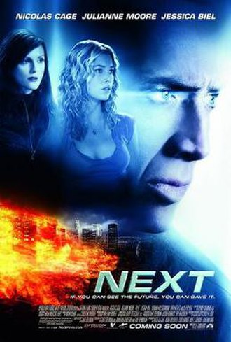Next (2007 film) - Theatrical release poster
