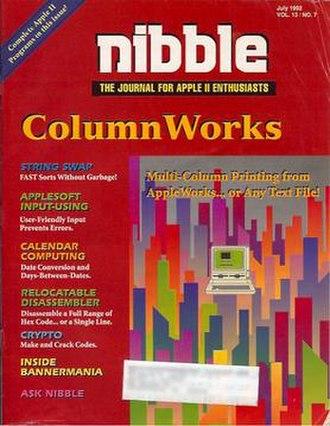 Nibble (magazine) - Image: Nibble Jul 92