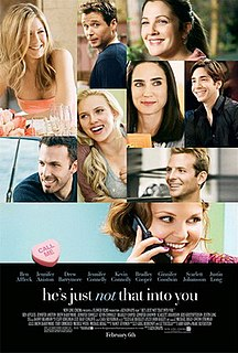 <i>Hes Just Not That into You</i> (film) 2009 film by Ken Kwapis
