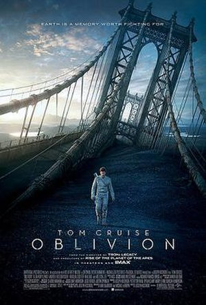 Oblivion (2013 film) - Theatrical release poster