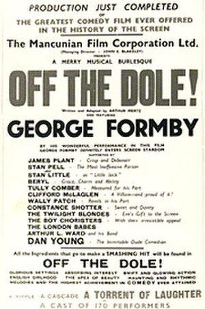 Off the Dole - Theatrical release poster
