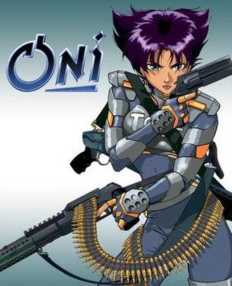 Oni (video game) - Image: Oni Coverart