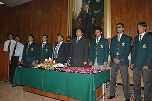 Pakistan Cricket Team under a cloud...