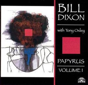 Papyrus Volume I - Image: Papyrus Volume I