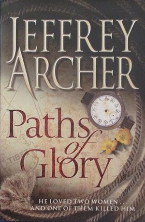 Paths of Glory (Archer novel) - Image: Paths of glory novel cover