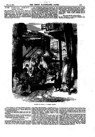 Bihar famine of 1873–74 - Image: Penny illustrated 1874 famine