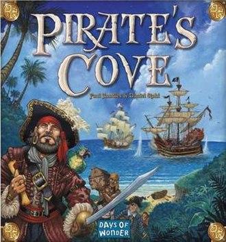 Pirate's Cove - Image: Pirate's Cove board game cover
