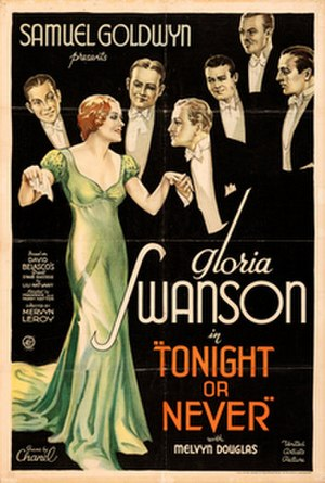 Tonight or Never (1931 film) - Theatrical poster