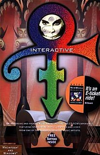<i>Prince Interactive</i> 1994 multimedia CD-ROM video game