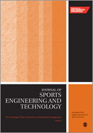 Proceedings of the Institution of Mechanical Engineers, Part P: Journal of Sports Engineering and Technology - Image: Proceedings of the I Mech E P journal cover