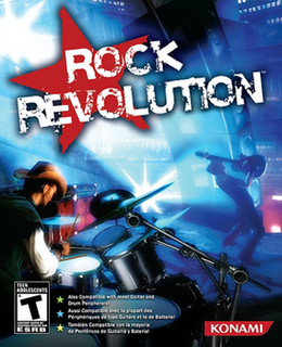 <i>Rock Revolution</i> video game