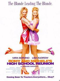 <i>Romy and Micheles High School Reunion</i> 1997 American film by David Mirkin