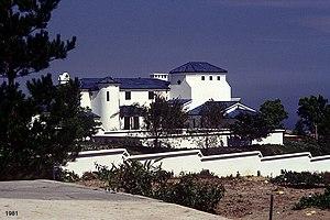 Shams Pahlavi - Santa Barbara Estate, 1981, California.