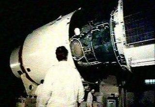 Salyut 4 Salyut space station launched on December 26, 1974