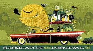 Sasquatch! Music Festival - Image: Sasquatch 2008