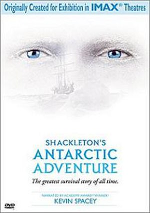 Shackleton's Antarctic Adventure - DVD release poster