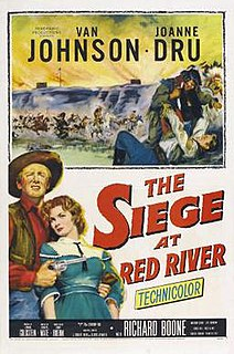 <i>Siege at Red River</i> 1954 American Western film directed by Rudolph Maté
