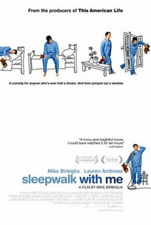 Sleepwalk with Me - Theatrical release poster