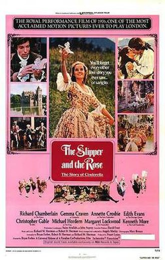 The Slipper and the Rose - US theatrical release poster