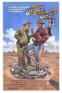 <i>Smokey and the Bandit II</i> 1980 film by Hal Needham