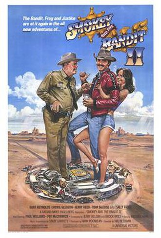 Smokey and the Bandit II - Theatrical poster by Dan Gouzee